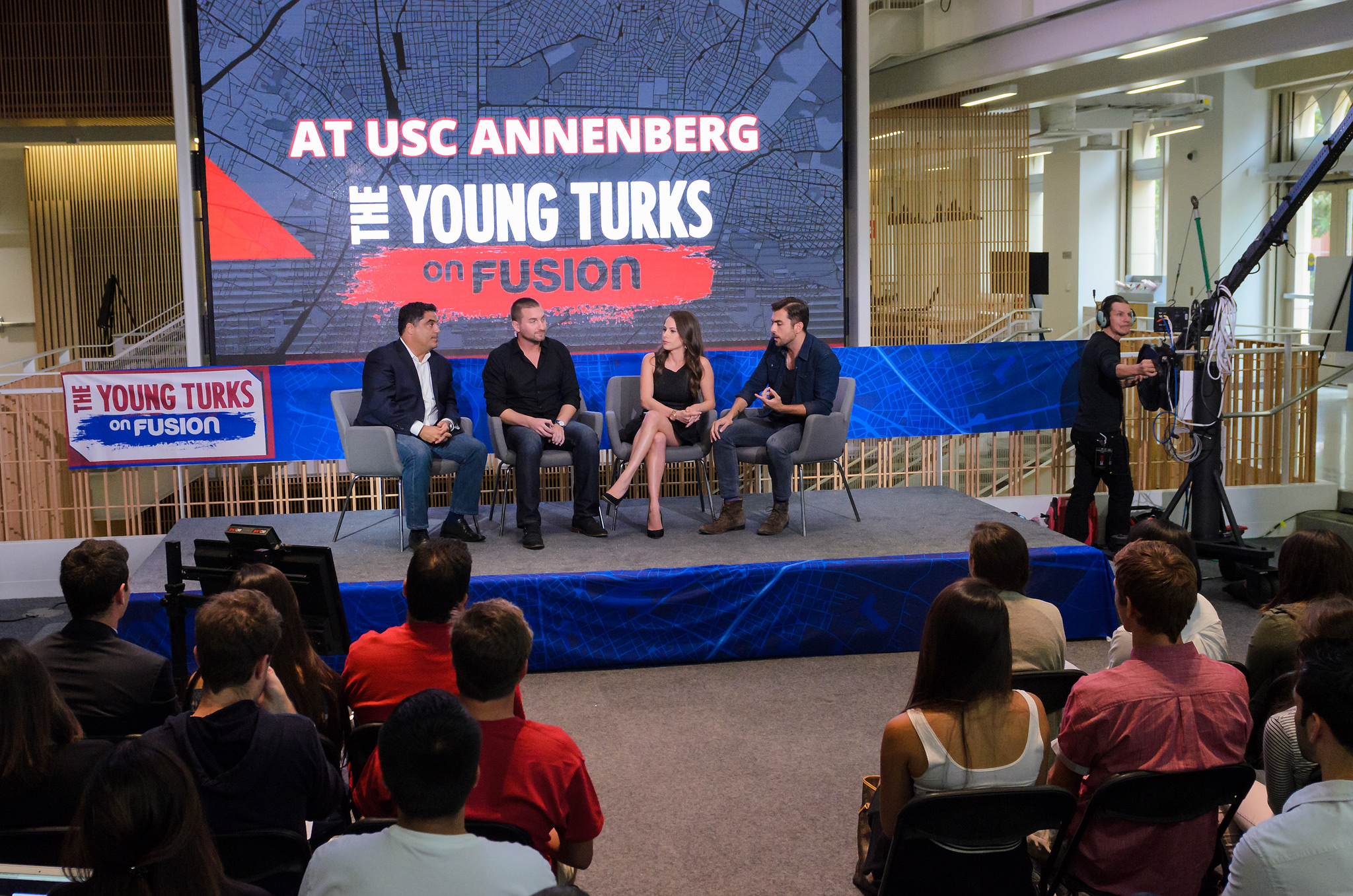 """""""The Young Turks on Fusion"""" premiere new series at USC ..."""