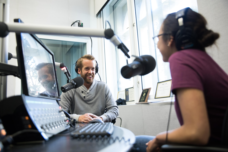 Podcast/Radio Studio | USC Annenberg School for