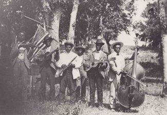 Photo of an Emancipation Day celebration