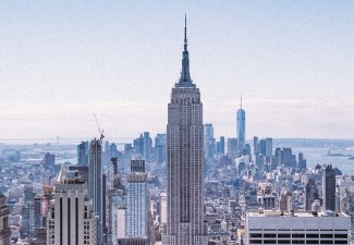 Photo of a New York City skyline