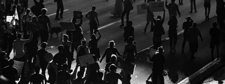 Image of a Black Lives Matter protest