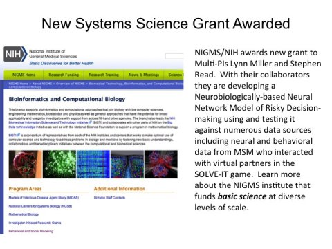 nigms awards grant