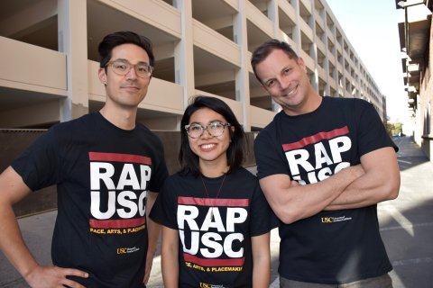USC SLAB and RAP team members
