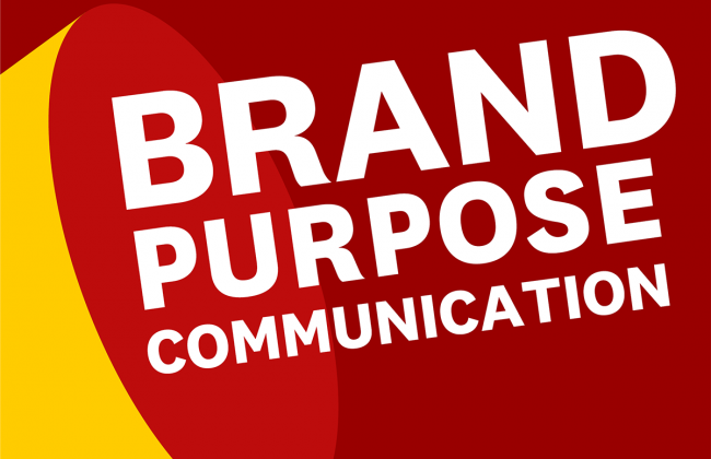 Cover of the USC Annenberg Brand Purpose Communication study