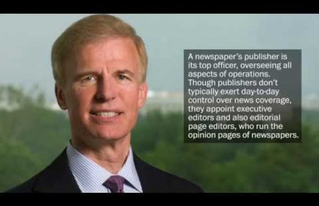 Meet The Post's new publisher, Frederick J. Ryan Jr.