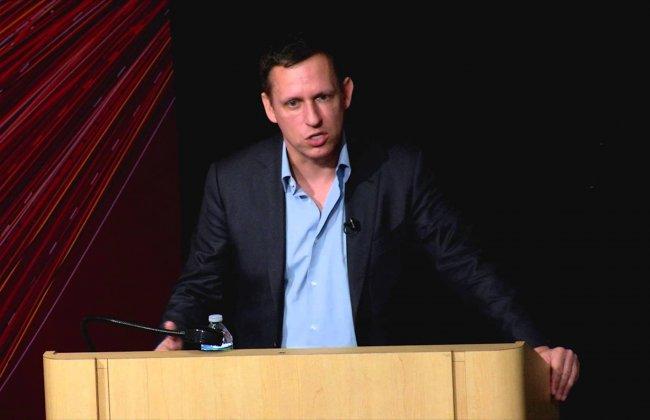 Zero to One: Peter Thiel speaks at USC Annenberg
