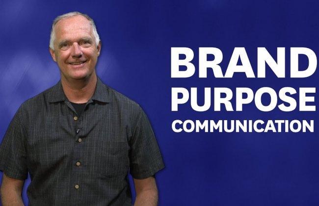 Brand Purpose Communication
