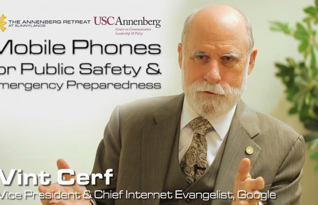 Mobile Phones for Public Safety and Emergency Preparedness - USC Annenberg CCLP