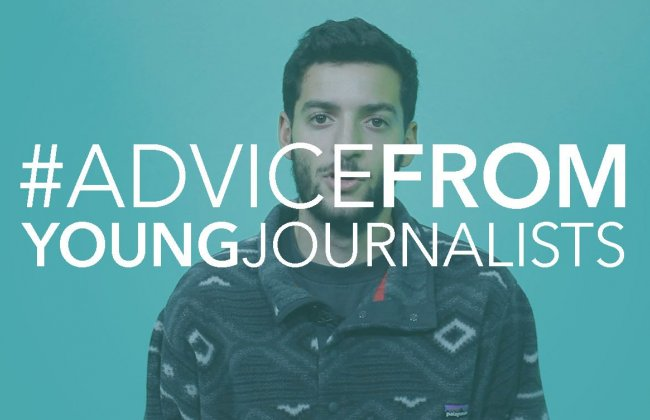 #AdviceFROMYoungJournalists