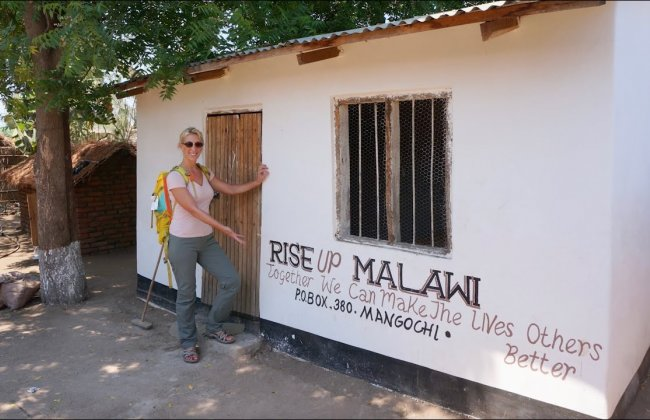 Alumna Megan Mathis is making a difference in Malawi