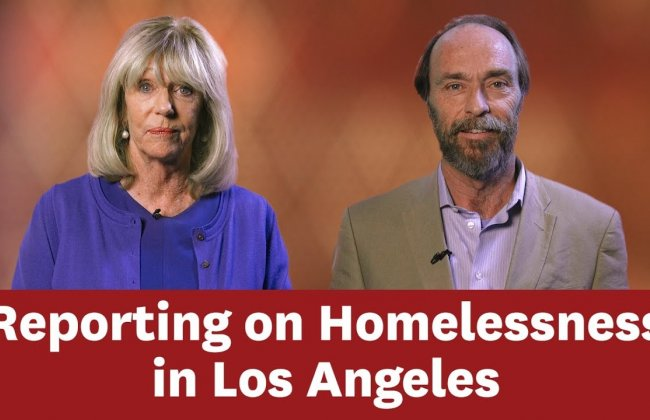 Reporting on Homelessness in Los Angeles: Mary Murphy and Sandy Tolan