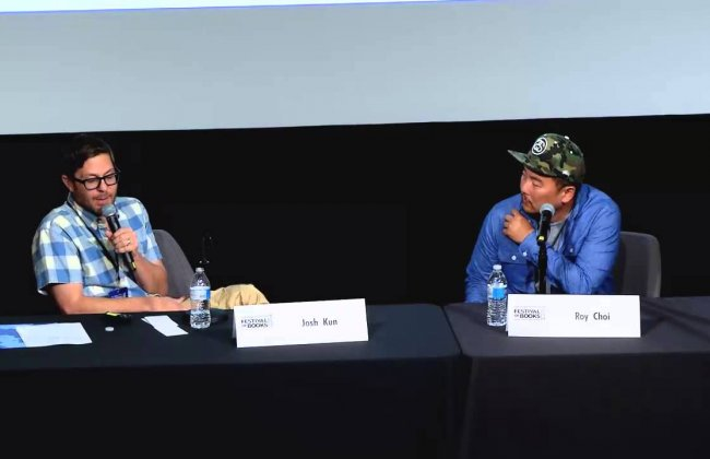 To Live and Dine in LA--Josh Kun and Roy Choi--LA Festival of Books