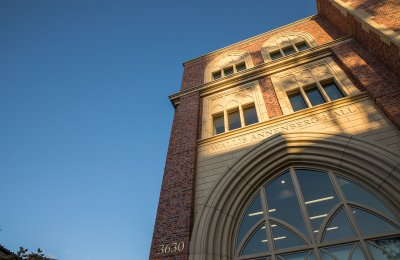 Photo of the new Annenberg building