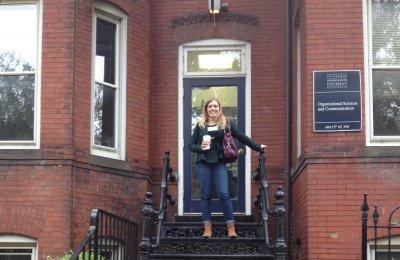 Doctoral Graduate Katrina L. Pariera