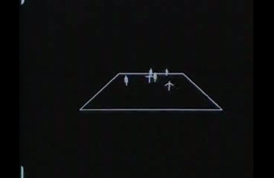 Illustration of figures on a quadrilateral plane