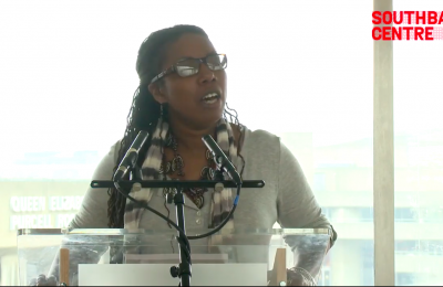 Photo of Miki Turner speaking
