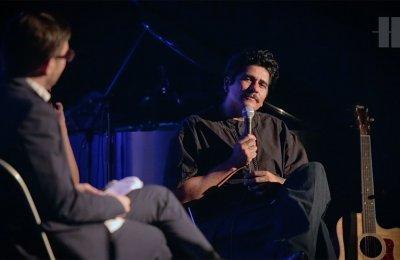 "Screenshot from video ""Crossfade Lab: Julieta Venegas and Rafa Esparza"""