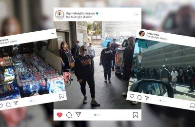 Collage of screenshot of Instagram posts