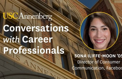 Conversations with Career Professionals: Sona Iliffe-Moon '05
