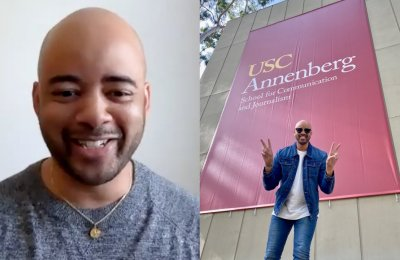 Graduating with two degrees, Ethan Ward finds a home and a way forward at USC Annenberg