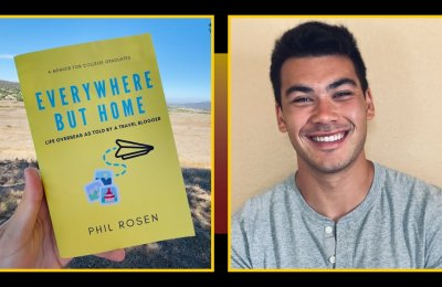 Phil's next stop: The journey of a graduate journalism student toward writing his own book