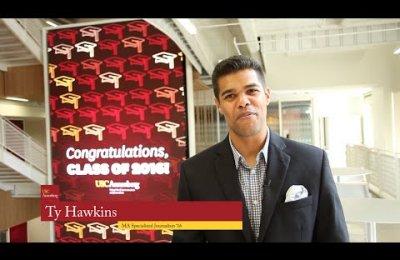 Master Class: Ty Hawkins and graduation