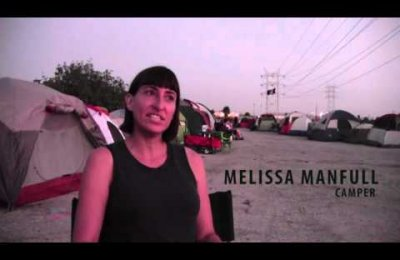 Camping on the Los Angeles River