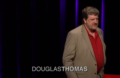 Screenshot of a Douglas Thomas presentation