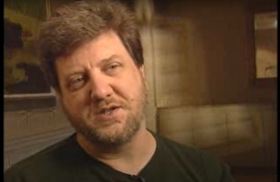 Screenshot of a Douglas Thomas video about video game learning