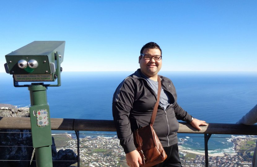 First year doctoral student Ignacio Cruz is the recipient of a 2016 NSF Graduate Research Fellowship.aduate Research Fellowship.