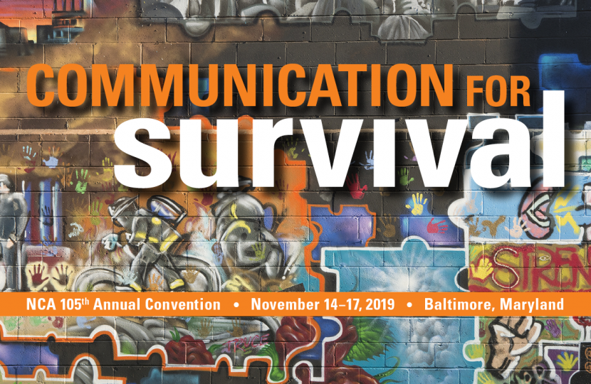 """The """"Communication for survival"""" cover"""