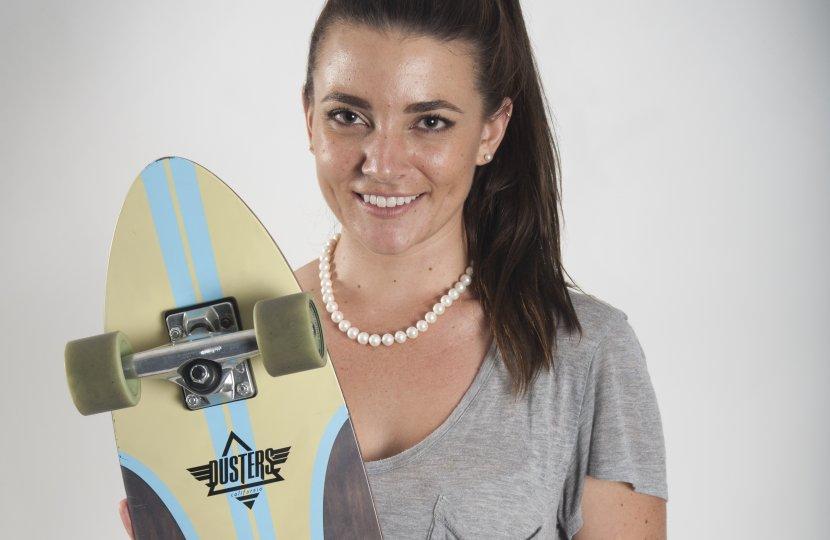 Skateboards, USC Annenberg, Wallis Annenberg Hall