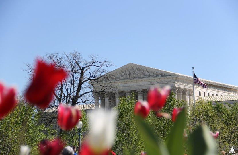 U.S. Supreme Court in Spring, Washington, D.C.