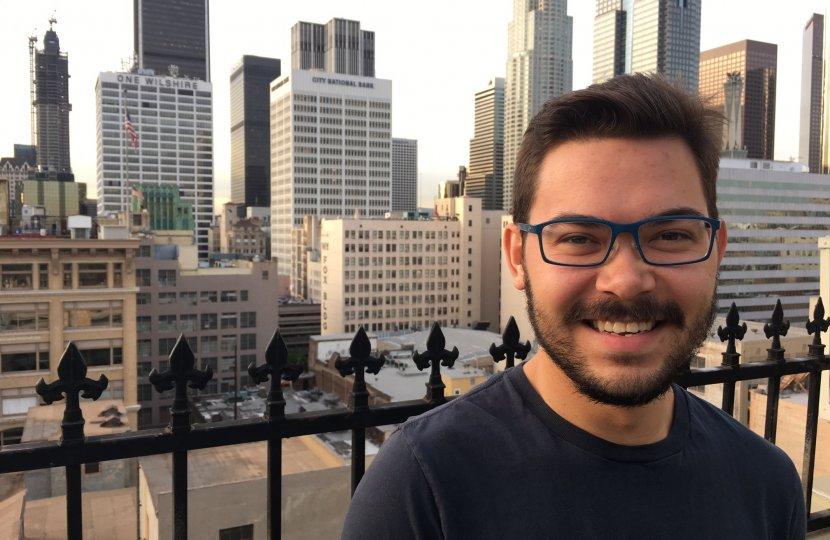 Global Communication Student David Myles