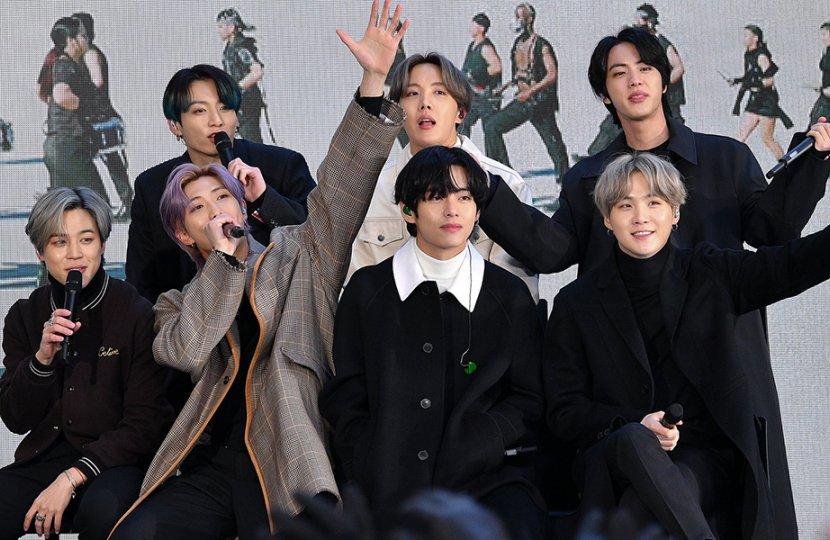 Photo of K-pop band BTS