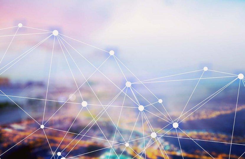 Photo of network nodes