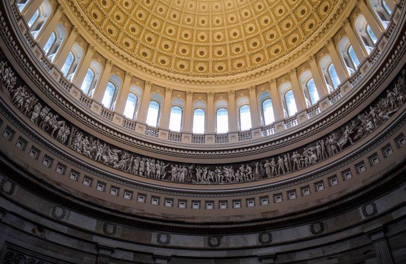 Photo of the Capitol rotunda