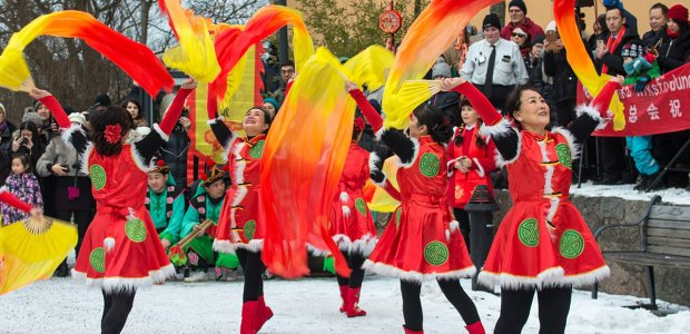 Image of a Chinese New Year celebration