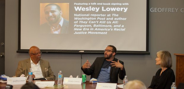 Photos: Dean's Forum with journalist Wesley Lowery   USC Annenberg