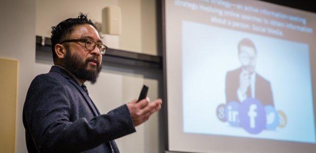 Doctoral Graduate George Villanueva teaches at Loyola University Chicago.