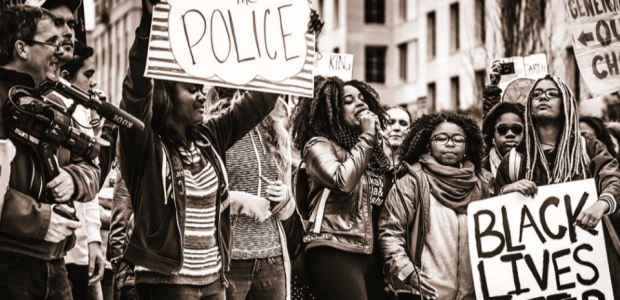 Photo of a Black Lives Matter protest