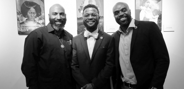 Photo of Jerome Morgan, Robert Jones and Daniel Rideau