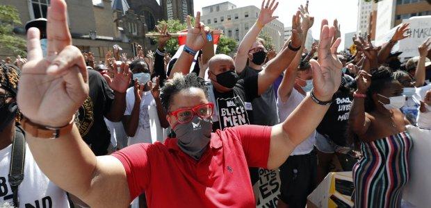 Photo of activists