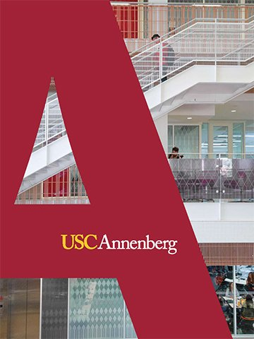 Cover of the USC Annenberg viewbook