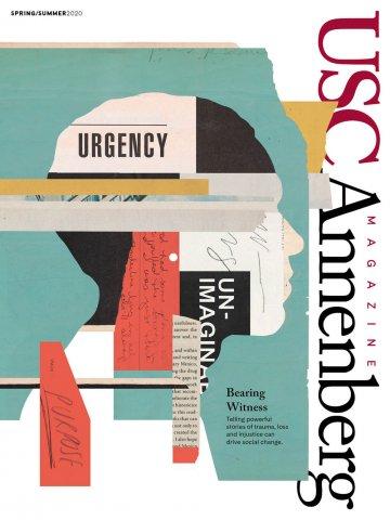 USC Annenberg magazine Spring 2020 cover